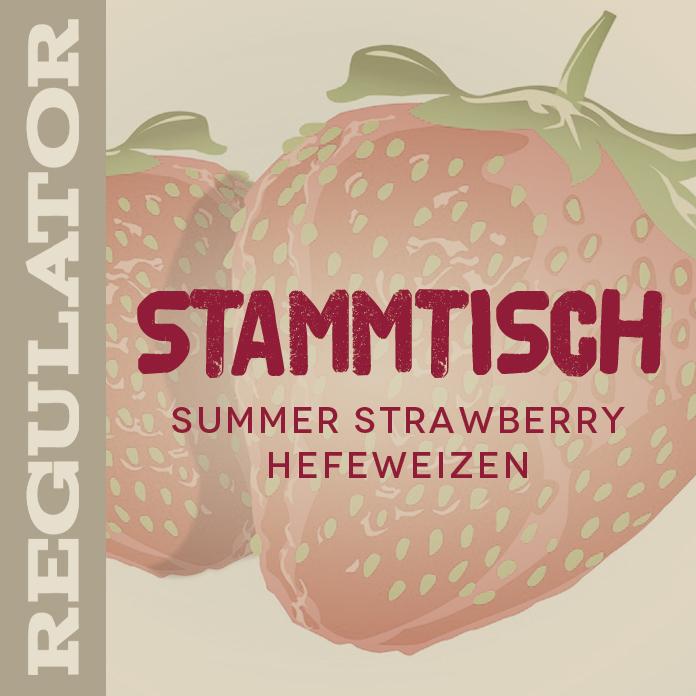 Stammtisch Strawberry Hefeweizen